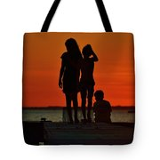 Time With Friends Tote Bag