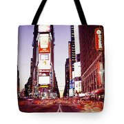 Times Square, Nyc, New York City, New Tote Bag