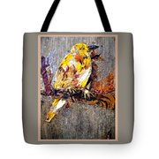 Tired Bird Tote Bag