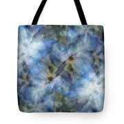Tissue Paper Blues Tote Bag