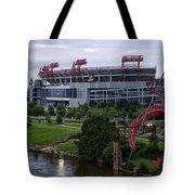 Titans Lp Field Tote Bag