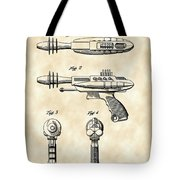 Toy Ray Gun Patent 1952 - Vintage Tote Bag