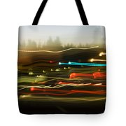 Traffic Blur Tote Bag by Charmian Vistaunet