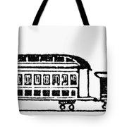 Train, 19th Century Tote Bag