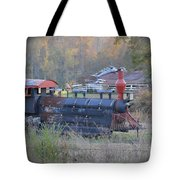 Trains Planes And Automobiles Tote Bag