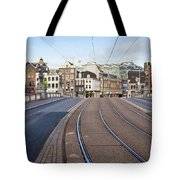 Transport Infrastructure In Amsterdam Tote Bag