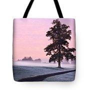 Tree At Dawn / Maynooth Tote Bag
