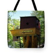 Tree House Boat 3 Tote Bag