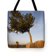 Tree Rock Wyoming Tote Bag