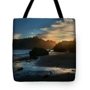 Trinidad Beach Sunset Tote Bag by Adam Jewell