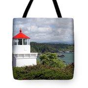 Trinidad Head Light House On The Coast Tote Bag