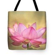 Tropical Lotus Flower Tote Bag