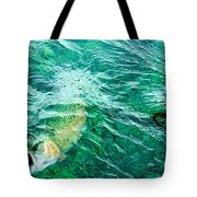 Catching Flies Tote Bag