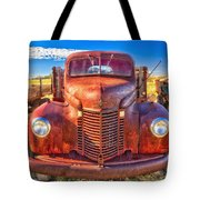 International Rust Tote Bag