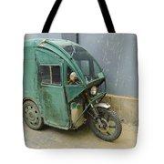 Tuk Tuk 3-wheeled Motorcycle Tote Bag