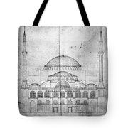 Turkey: Hagia Sophia, 1830s Tote Bag