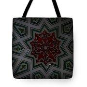 Turkish Tile Design Tote Bag