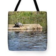 Turtle Float Tote Bag