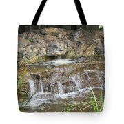 Turtle Head Falls  Tote Bag