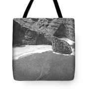 Turtle Head Sea Cave Napali Coast Tote Bag