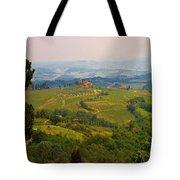 Tuscan Landscape Tote Bag