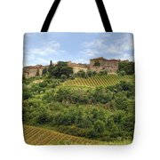 Tuscany - Castelnuovo Dell'abate Tote Bag