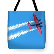 Twin Engine Plane  Tote Bag