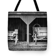 Two Carts Tote Bag