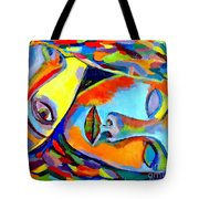 Two Energies Tote Bag