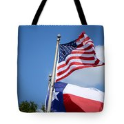 God Has Blessed America Tote Bag