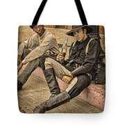 Two Of A Kind Tote Bag by Priscilla Burgers