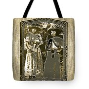 Two  Soldaderas Unknown Mexico Location Or Date-2014 Tote Bag