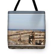 Tybee Island Boardwalks Tote Bag