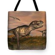 Tyrannosaurus Rex Dinosaurs Tote Bag