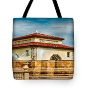Unity Village And Fountain Tote Bag