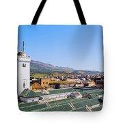 University Of Al-karaouine In Fes In Morocco Tote Bag