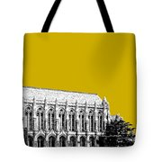 University Of Washington - Suzzallo Library - Gold Tote Bag