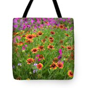 Up Close In The Garden 2 Tote Bag