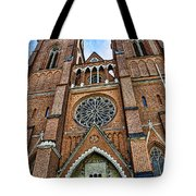 Uppsala Cathedral - Sweden Tote Bag