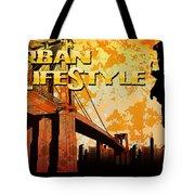 Urban Lifestyle Tote Bag