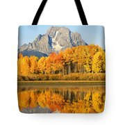 Usa, Grand Teton National Park Wyoming Tote Bag