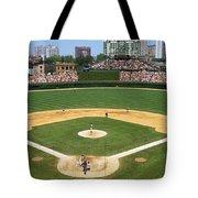 Usa, Illinois, Chicago, Cubs, Baseball Tote Bag