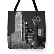 Usa, Texas, Dallas, Panoramic View Tote Bag