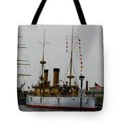 Uss Olympia Tote Bag