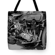 V-twin Engine Tote Bag