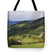 Val Di Funes Dolomites Italy Tote Bag