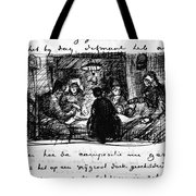 Van Gogh Letter Tote Bag