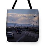 Vegas Cityscape Tote Bag