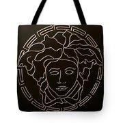 Versace Medusa Head Tote Bag by Peter Virgancz