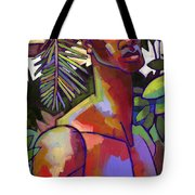 African Forest Tote Bag by Douglas Simonson